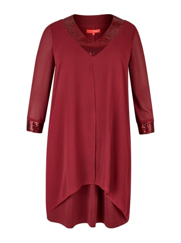 THEA Chiffonkleid in rot