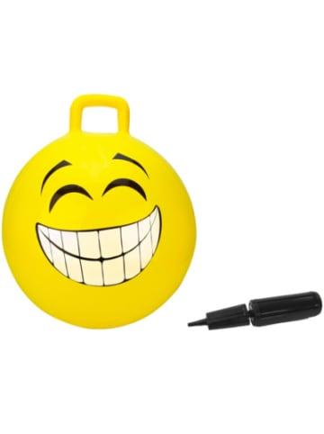Jamara Hüpfball Smile gelb 450mm