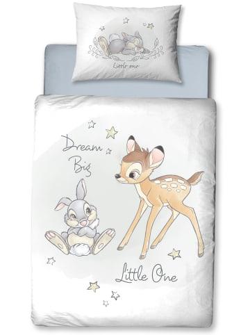 """Disney Baby Baby Bettwäsche-Set Flanell """"Disney's Bambi"""" in Weiß"""
