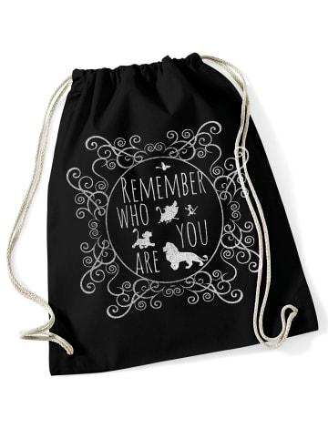 Disney König der Löwen Turnbeutel Remember Who You Are Bag in schwarz
