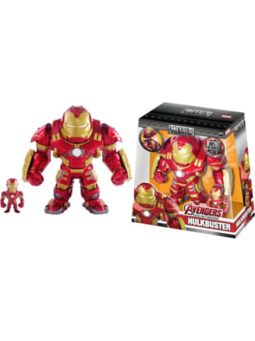 """Jada Marvel Figure 6"""" Hulkbuster+2"""" Ironman"""