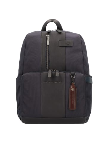 Piquadro Brief Rucksack 35 cm Laptopfach in blue