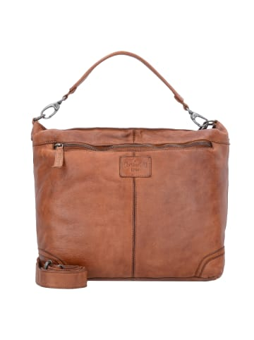 The Chesterfield Brand Vintage Abby Schultertasche Leder 30 cm in cognac