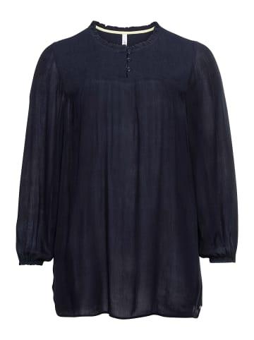 Sheego Tunika in nachtblau