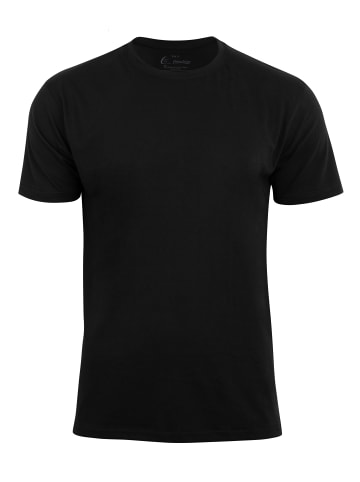 Cotton Prime® T-Shirt O-Neck - Tee in Schwarz