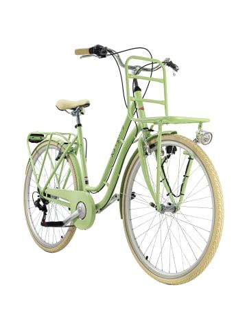 KS CYCLING Damenfahrrad Cityrad 28'' Swan 6Gänge in grün
