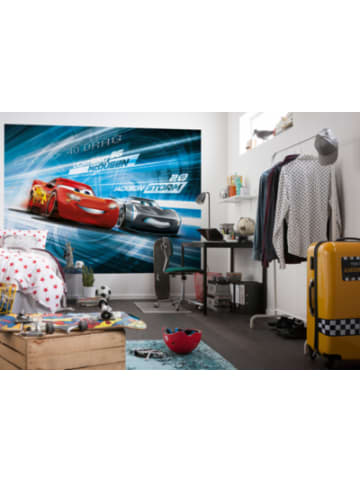 "Komar Fototapete ""Cars 3 Simulation"", 254 x 184 cm"