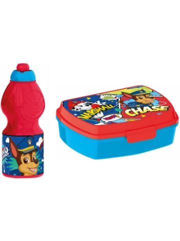 JOY TOY PAW Patrol Set: Pausenbox + Trinkflasche