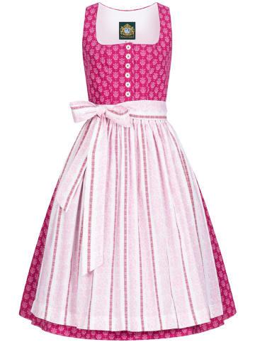 Hammerschmid Midi Dirndl in Pink