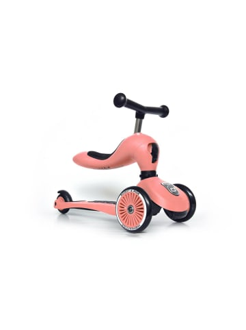 Scoot & Ride Highwaykick 1 - peach in orange
