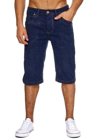Jaylvis Jeans Shorts Bermuda Hose Capri in Blau