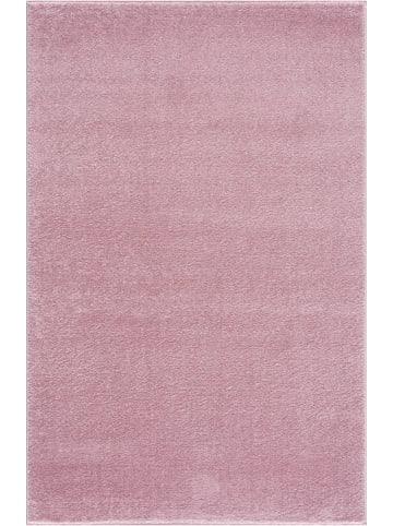 Livone Kinderteppich EINFARBIG in rosa