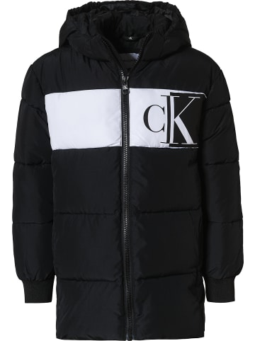 Calvin Klein Winterjacke BLOCK MONOGRAM (recycelt)