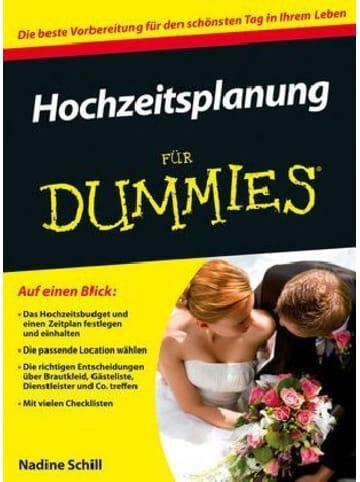 Wiley-VCH Hochzeitsplanung für Dummies