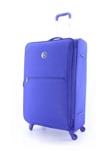 ELLE Reisekoffer Mode in Blau