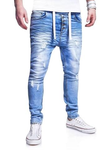 Behype Jeans Mood in hellblau