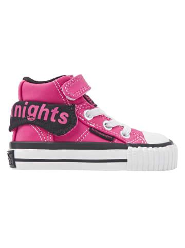 British Knights Sneaker Roco in rosa/schwarz