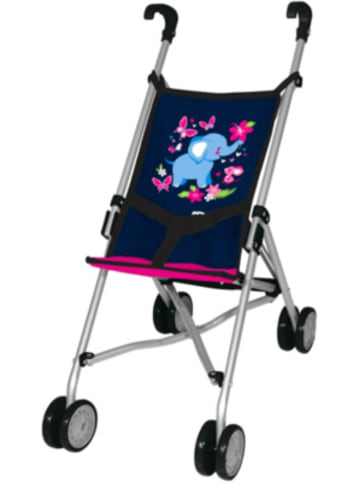 MyToys-COLLECTION Puppen-Buggy, blau/pink von Bayer