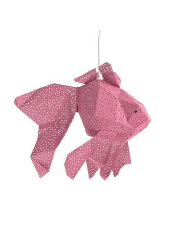 """Vasili Lights Laterne """"Fisch"""" in Pink"""