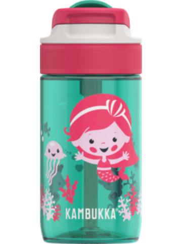 KAMBUKKA® Tritan-Trinkflasche LAGOON Spout Ocean Mermaid, 400 ml, inkl. Trinkhalm