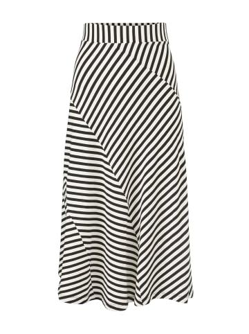 MASAI  mittellanger A-Linien-Rock Saris in whitecap
