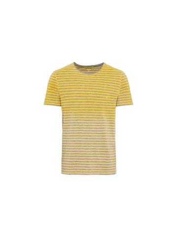Camel Active Rundhals T-Shirt in gelb