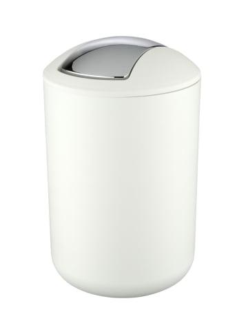 Wenko Kosmetikeimer Brasil Weiß L, 6,5 Liter in Weiß