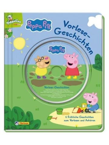 Nelson Peppa Pig: Vorlesegeschichten, m. Audio-CD