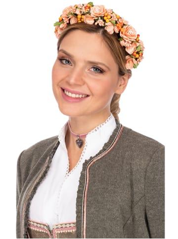 Fielana Haar- und Hutkranz CHRISTINA 1012 apricot