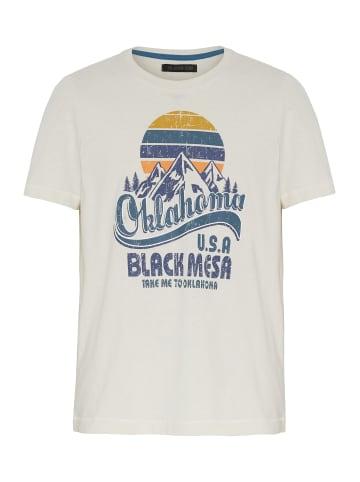 Oklahoma Premium Denim T-Shirt in 11-0701 Whisp White