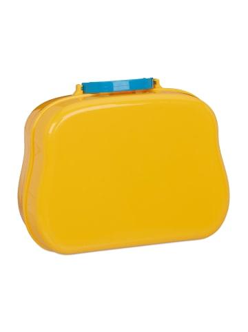 Relaxdays Werkzeugkoffer Kinder in Gelb