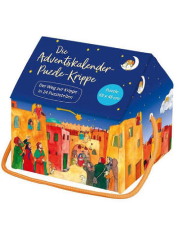 St. Benno Die Adventskalender-Puzzle-Krippe