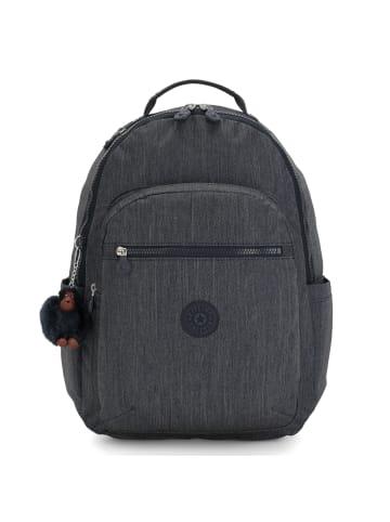 Kipling Back To School Seoul Rucksack 44 cm Laptopfach in marine navy