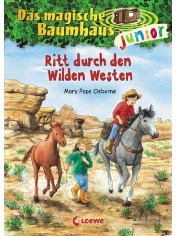 Loewe Verlag Das magische Baumhaus junior (Band 10) - Ritt durch den Wilden Westen