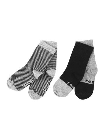 "Reima 2er Pack Socken "" My Day "" in Melange grey"