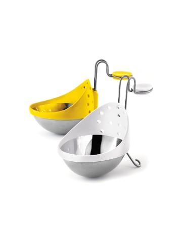 Cuisipro Eier-Pochierer Edelstahl-Eier-Pochierer in gelb