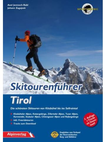 Alpinverlag Skitourenführer Tirol