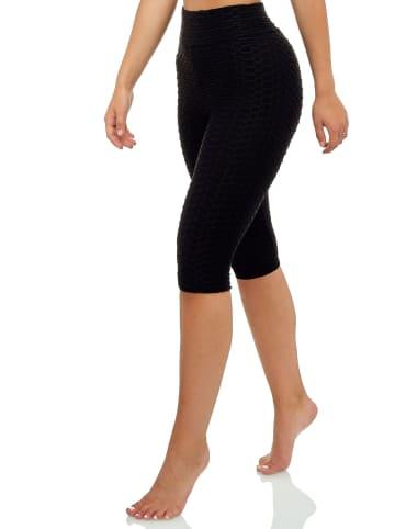 Arizona-Shopping Short Leggings Fitness High Waist Fitness Shaping Butt Lift Sport in Schwarz