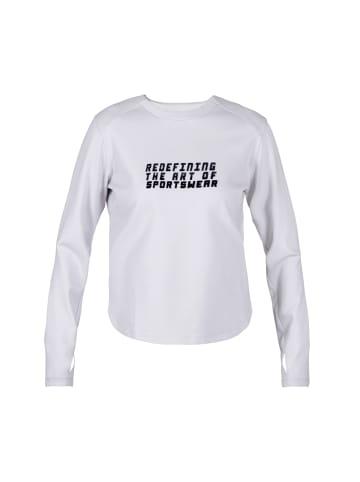 MOROTAI Sweatshirt Active Dry Sweatshirt in Hellgrau