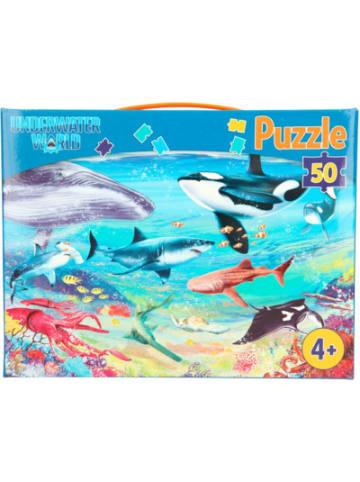 Dino World Puzzle Dino World Underwater, 50 Teile