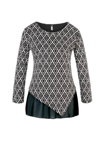 Million X - Women Damen Shirt Double in black