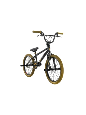 KS CYCLING Freestyle BMX G-Acid in schwarz-gold