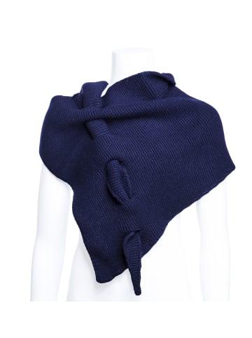 Million X - Women Damen Schal Happy Neck in navy blue