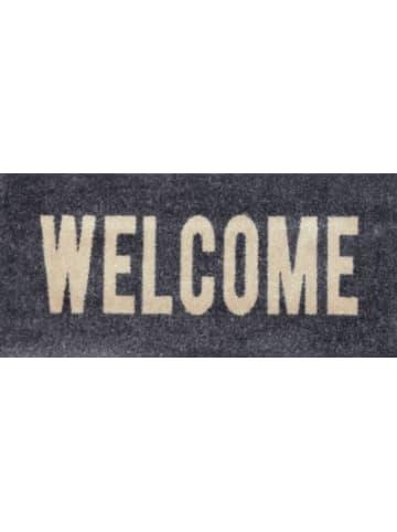 """Wash+dry Fußmatte """"Welcome"""", 30x70cm"""