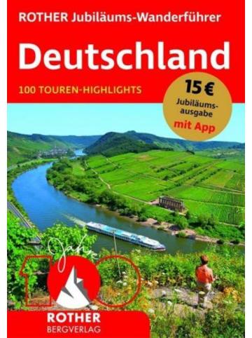 Bergverlag Rother Jubiläums-Wanderführer Deutschland