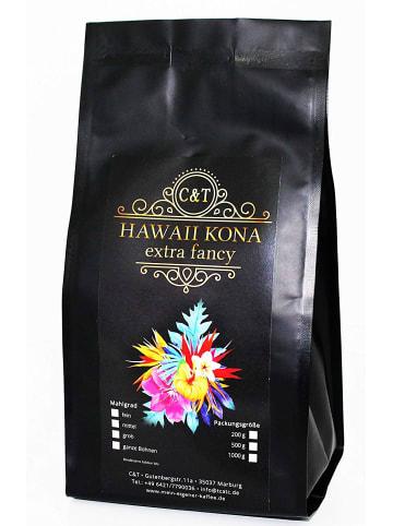 "C&T Kaffee ""HAWAII KONA"" - 500 Gramm Ganze Bohnen"