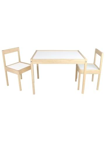 Edu dizayn Kindersitzgruppe Ben 3 tlg. in holz