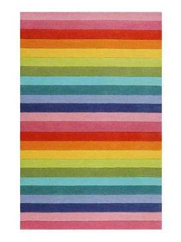 Smart Kids Teppich Rainbow Stripes in multicolor
