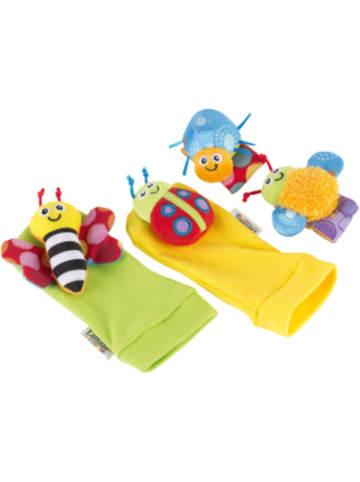 Lamaze Handgelenkrassel & Füßefinder Set