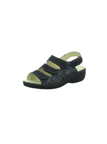 Longo Sandalen/Sandaletten in schwarz